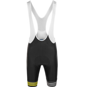 guilty 76 racing Velo Club Pro Race Bib Shorts Heren, black